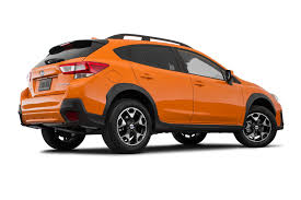 crosstrek subaru orange 2018 subaru crosstrek is much more refined says consumer reports