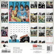 2018 the beatles wall calendar day dream day dream