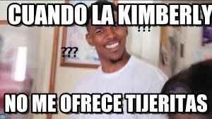 Kimberly Meme - cuando la kimberly negro confundido meme en memegen