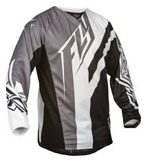 black motocross gear fly racing kinetic division jersey revzilla
