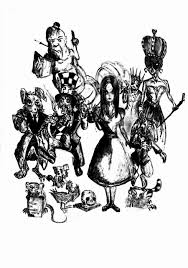 alice wonderland characters teacherpump deviantart