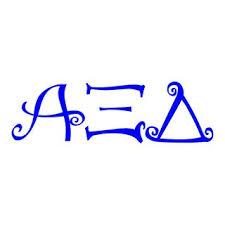 alpha xi delta greek letters letter idea 2018