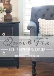 Inexpensive Chairs For Living Room by A Quick Fix For Those Inexpensive Upholstered Chairs Worthing Court