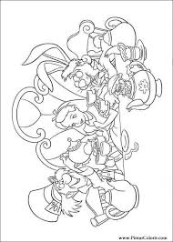 drawings paint u0026 colour alice wonderland print design 003