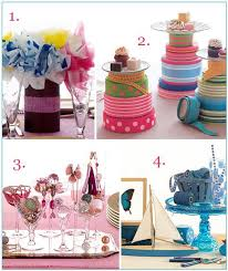Non Flower Centerpieces For Wedding Tables by Vibrant Colorful Non Floral Centerpieces Perfect For The Diy