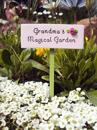 Fairy Garden Ideas For Kids by Fairy Garden Sign Grandma U0027s Magical Fairy Garden