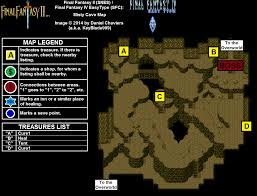 Final Fantasy 2 World Map by Final Fantasy Ii Misty Cave Map For Super Nintendo By Keyblade999