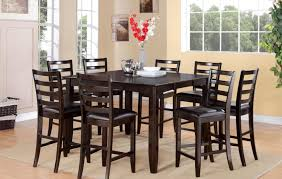 Round Dining Room Table Set by Dining Room 21 Photos Gallery Of Best Bar Height Dining Table