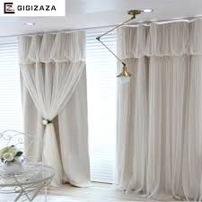 Black Ivory Curtains Aliexpress Com Buy Torino Tassels Lanterns Head Thermal Curtain