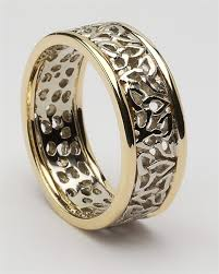 Celtic Wedding Rings by Ladies Celtic Trinity Wedding Rings Lg Wed147
