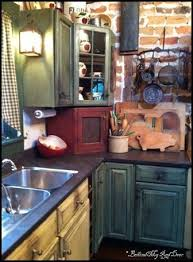 multi color kitchen cabinets distressed red kitchen cabinets oh be still my heart i love