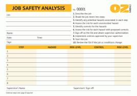 job safety analysis worksheet free worksheets library download