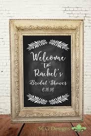 bridal shower signs bridal shower sign shower ideas