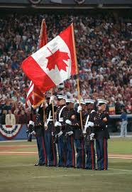 What Leaf Is On The Canadian Flag Memories From The 1992 World Series U0027flag Flap U0027 The Globe And Mail