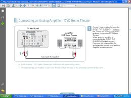 home theater configuration is there a diagram for hooking up a cable box tivo a vcr and a