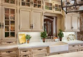 Distressed Kitchen Cabinets Stress Less With Distressed Cabinets