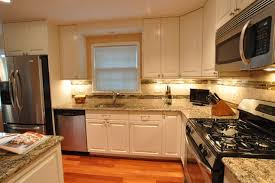 backsplash for kitchen with white cabinet kitchen remodel white cabinets tile backsplash undercabinet