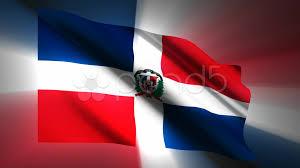 Dominican Republic Flag Stock Video Dominican Republic Flag 887634 Pond5