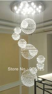 Grand Foyer Modern Grand Foyer Chandeliers 80cm Modern Crystal Foyer