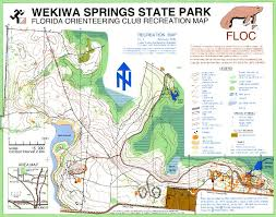 Map Of Ocala Fl Florida Orienteering