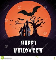 cartoon halloween background halloween background flying bats in full moon royalty free stock
