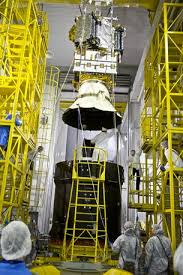 entry 7 smos mated to launcher upper stage smos observing the
