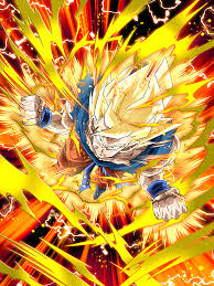 furious limit breaking super saiyan goku dragon ball dokkan