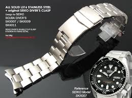 stainless steel bracelet seiko images Nb ss22 010 22mm super oyster ii 316l stainless steel band for jpg