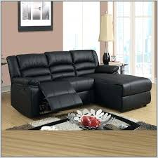 Small Leather Sofa With Chaise Wonderful With Chaise And Recliner Medium Image For All