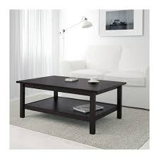 Ikea Hemnes Side Table Hemnes Coffee Table Black Brown Ikea