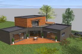 interieur maison bois contemporaine unique plan maison bois contemporaine 46 pour votre conception d