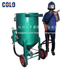 portable sand blasting machine price portable sand blasting
