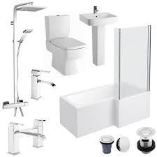 bliss l shaped 1700 complete bathroom package available online now