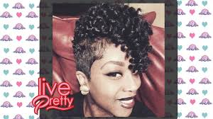 short curly crochet hairstyles curly crochet braids on short hair pre curled youtube in