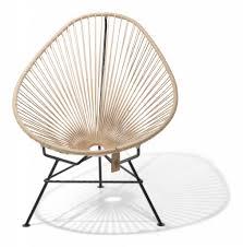 fauteuil en corde chaise acapulco en chanvre 100 naturel le fauteuil acapulco