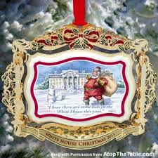 buy white house official ornament 1987 q front door