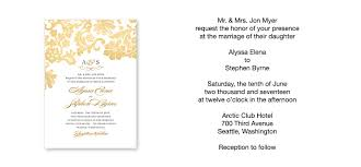 wedding invitation phrases the wedding invitation exles free natalies invitations