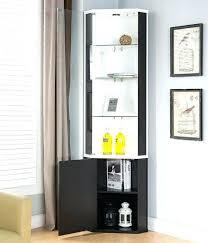 curved corner curio cabinet contemporary curio cabinets modern corner curio cabinet contemporary