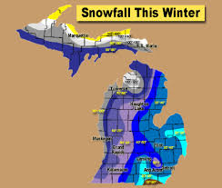 Lansing Michigan Map by Michigan U0027s Amazing Snowfall This Year Ranges From Under 20 Inches