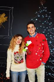 collection ugly couple christmas sweaters pictures best fashion