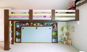 Bunk Beds In Wall Bedroom Makeovers Custom Bunk Loft Beds Page 2
