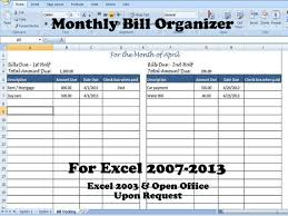 Excel Spreadsheet For Monthly Expenses Monthly Expense Chart Template Excel
