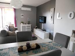 beau mur gris et blanc chambre galerie avec peinture salon gris et