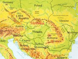 Eastern Europe Map A Network Connection Travels East To Slovakia For A Consult And