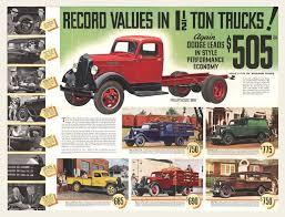 1936 dodge 1 1 2 ton trucks brochure mailer brochures dodge