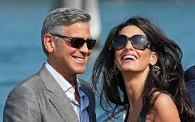george clooney wedding george clooney and amal alamuddin s wedding weekend in swing