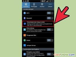 membuat jaringan wifi lancar cara mengaktifkan setting wi fi hotspot di android
