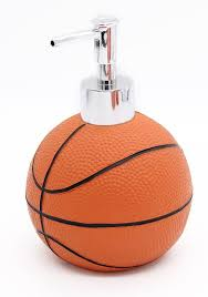 gifts for basketball fans basketball bathroom accessories 5 piece collection set is a great