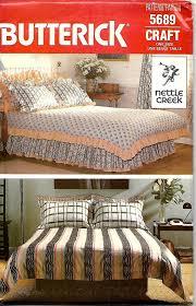 Duvet Sewing Pattern Butterick 5689 Nettle Creek Bed Covering Sewing Pattern Duvet