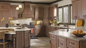 Brown Cabinet Kitchen Custom Cabinet Brands For Kitchens And Baths